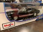 Maisto 118 Scale Diecast Model Car 1967 Ford Mustang GTA Fastback Black