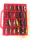 Die Cast Cars Hot Wheels + Maisto + Others Lot Of 48 Mixed with Case
