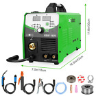 Mig Tig Stick Welder 160a Inverter Flux Core Wire Gasless Metal Welding Machine