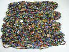 4 Pounds Assorted India Handmade Spacer Glass Beads Wholesale Bulk Lot TD 71