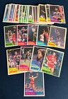 1981-82 TOPPS BASKETBALL MID WEST #67-110 44 COMPLETE SET W BILL LAIMBEER RC