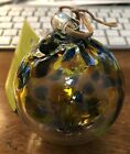 KITRAS Art Glass 3 Ball Ornament Tree Of Enchantment Hand Made in Canada