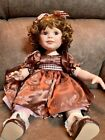 Marie Osmond Doll Buttons  Bows Chocolate Anyone w box t tag bracelet  cert