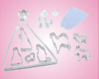 Christmas Nativity 17 Piece Cookie Cutter Bake Set Mary Joseph Sheep Camel Xmas
