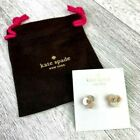 Kate Spade New York Disco Pansy Mother Of Pearl Flower Stud Earrings Nwt