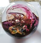 SELKIRK GLASS PAPERWEIGHT COLLECTOR EDITION INFERNO