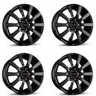 4 Borbet Wheels C2C 80x18 ET40 5x108 SW for Ford C Max Edge Focus Galaxy Kuga M