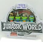 PEZ JURASSIC WORLD CLICK AND PLAY GIFT TIN Rare Jurassic Park Set
