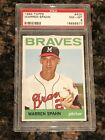 Top 10 Warren Spahn Baseball Cards 23