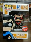 FUNKO POP NIGHTWING FUGITIVE TOYS EXCLUSIVE RED BLACK RARE MINT W PROTECTOR