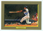 BEAUTIFUL AUTOGRAPHED WILLIE MAYS PEREZ STEELE GREAT MOMENTS CARD