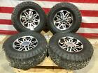 03 09 Hummer H2 Vision Wheels  General Tires 1 Tire Badly Cupped 315 70 17