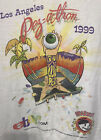 Vintage 2nd Annual Los Angeles Pez-A-Thon Convention T-Shirt '99 Psychedelic Eye