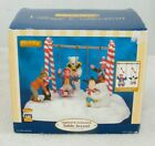 NEW! 2007 LEMAX VILLAGE COLLECTION SANTA'S SWING TABLE ACCENT