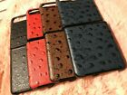 GENUINE OSTRICH LEATHER Phone case for Samsung Galaxy Z FLIP 5G back cover shell
