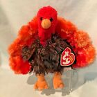 Leftovers Turkey Ty Beanie Baby #40574 2007 PE Retired Thanksgiving $14.99