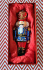 WOW NUTCRACKER 7 GLASS TREE ORNAMENT FROM POLAND  CHRISTMAS  NEW IN BOX