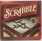 Scrabble Deluxe Edition Rotating Turntable Board Game 2001 Complete