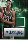 Giannis Antetokounmpo 2013-14 Intrigue Rookie Jersey Auto Autograph 42 99