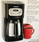 Cuisinart DCC 1150BK 10 Cup Programmable Thermal Coffee Maker Black