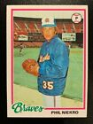 Phil Niekro Cards, Rookie Card and Autographed Memorabilia Guide 20