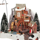 Lemax Oak Creek Grist Mill -Holiday Village /Train -Lighted -Animated