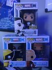 Funko POP! Marvel Exclusives Bundle (Deadpool, Wolverine, & The Punisher)