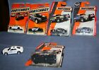 6 Different 2010 2019 Matchbox DODGE CHARGER PURSUIT Police Sheriff NYPD Lot