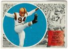 1960 Topps CFL Ted Hunt #8 B.C. Lions
