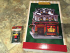 Lemax SET- Yorkshire Pub & Restaurant Holiday Village Lighted Building & Barmaid