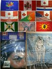 Large High Quality All Canada Old New Native Flags Banner 3X5 36X60
