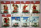 2020 M2 COCA COLA CHRISTMAS SET OF 8 DIE CAST NEW RELEASES