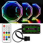 1 5 Pack RGB LED Quiet Computer Case PC Cooling Fan 120mm w Remote Control NEW