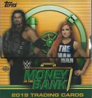 2019 TOPPS WWE MONEY IN THE BANK HOBBY BOX 4 HITS 3 AUTOS