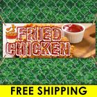Fried Chicken Advertising Vinyl Banner Flag Sign Many Sizes With Free Groomets