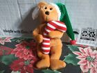 TY Beanie Baby Tasty the Holiday Bear Christmas Stuffed Animal Toy Candy Cane