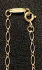 Tiffany  Co 18k Yellow Gold Oval Link Chain Necklace 24 NEW