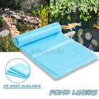 6Sizes Fish Pond Liner Garden Pools HDPE Membrane Reinforced Landscaping Outdoor