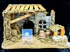 NATIVITY STABLE REALISTICALLY BEAUTIFUL WITH MANY ACCESSORIES