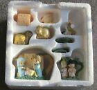 ENESCO PRECIOUS MOMENTS Christmas Miniature NATIVITY Boxed Tea Set Complete