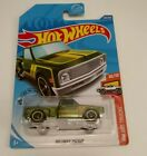 Hot Wheels 2020 Super Treasure Hunt 69 Chevy Pickup WITH PROTECTOR CASE
