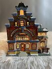 Lemax Harvest Crossing Haskell County Sheriff Lighted Village House 15548
