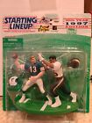 1997 Dan Marino Junior Seau Starting Lineup One on One Dolphins Chargers