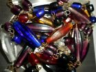 Vintage Amazing Colorful Czech Art Glass Beaded 40  Necklace