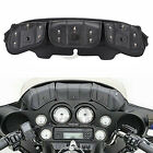 3Pocket Fairing Pouch Windshield Bag For Harley Tri Glide Ultra Classic FLHTCUTG