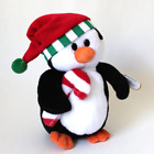 Rare! Ty Beanie Babies Baby Sweetest Penguin Candy Cane 7