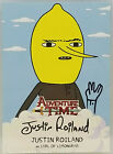 Mathematical! 2014 Cryptozoic Adventure Time Autographs Gallery, Guide 23