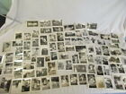 Lot of 94 Vintage Photos Car Kids Homes Christmas Baby Horse Old Photography Art