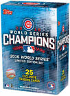 2016 Chicago Cubs World Series Champions Topps Limited Edition Team Box Set