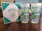 Masters Commemorative Highball Glass by Catstudio Set of 2